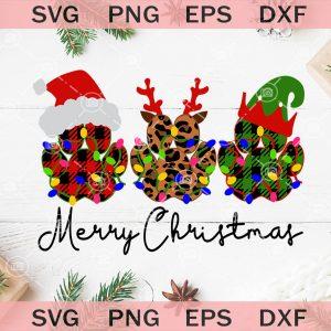 Merry Christmas Dog SVG, Dog Paw SVG, Dog Christmas SVG,svg cricut, silhouette svg files, cricut svg, silhouette svg, svg designs, vinyl svg
