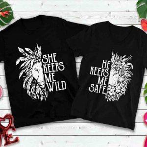 She Keeps Me Wild, He Keeps Me Wild, Stay Wild, Lion, Gypsy, Boho_11365365