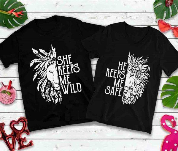 She keeps me wild he keeps me wild stay wild lion gypsy boho