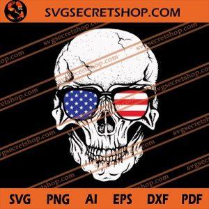 Skull America Glasse SVG, America Flag SVG, Skull SVG, America Skull SVG, America Glasse SVG, svg cricut, silhouette svg files, cricut svg, silhouette svg, svg designs, vinyl svg
