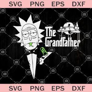 The grandfather svg grandpa svg rick and morty svg the godfather svg