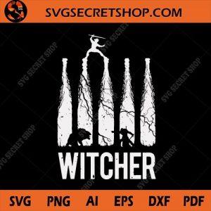 The Witcher SVG, The Witcher Silhouette SVG, Cirilla SVG, Witcher SVG - SVG Secret Shop, svg cricut, silhouette svg files, cricut svg, silhouette svg, svg designs, vinyl svg
