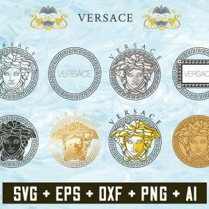 Versace svg, Versace logo svg, Pattern svg, Versace logo designs, Versace logo pattern svg, cut files, brand logo svg, digital download,,svg cricut, silhouette svg files, cricut svg, silhouette svg, svg designs, vinyl svg