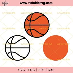 Basketball SVG Bundle, Basketball Ball SVG Bundle, Baller SVG DXF EPS PNG Cutting File for Cricut, svg cricut, silhouette svg files, cricut svg, silhouette svg, svg designs, vinyl