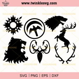Bundle Game of Thrones Svg, Game of Thrones Logo Svg, svg cricut, silhouette svg files, cricut svg, silhouette svg, svg designs, vinyl