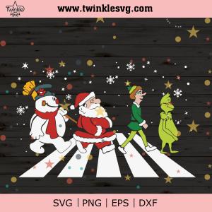 Christmas Road Svg, Christmas Svg, Santa Claus Svg, Christmas Svg, Cute Grinch Svg, Grinch Svg, Grinch Christmas Svg