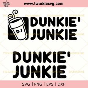 Dunkie Junkie SVG Bundle, svg cricut, silhouette svg files, cricut svg, silhouette svg, svg designs, vinyl