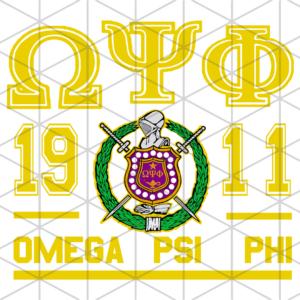 Omega Psi Phi Svg