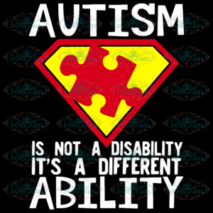 Autism Is Not A Disability Svg AU06112020