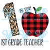 Is for st grade teacher svg bs