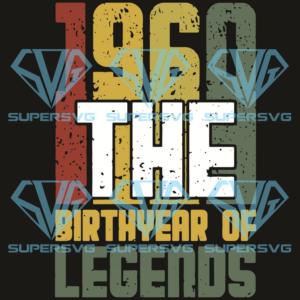 The birthyear of legends svg bd