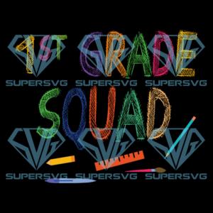 St grade squad svg bs