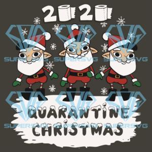 Quarantine christmas svg cm