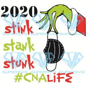 Stink stank stunk cna life svg cm