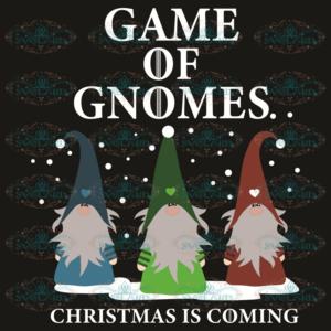 Game Of Gnomes Svg, Christmas Svg, Game Of Gnomes Svg, Christmas
