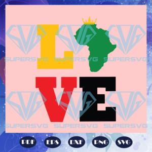 Africa love svg bg
