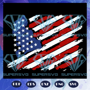 American Flag Svg, American Flag Heart, 4th Of July, The Fourth Of