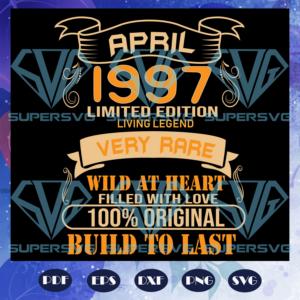 April limited edition svg bd a