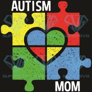 Autism mom svg td nd