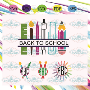Back to school Svg BS210525TH01