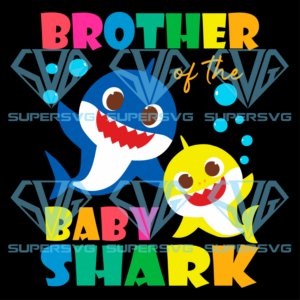 Brother of the baby shark svg td