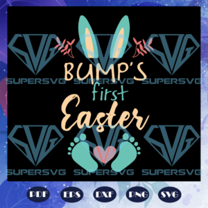 Bumps first easter easter gift easter shirt eggs bunny lover cute bunny bunny print lunch lady gift lunch lady files for silhouette files for cricut svg ea