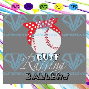 Busy raising baller svg md
