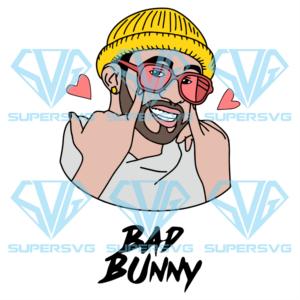 Cute bad bunny svg td