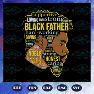 Black Father Svg, Dope Black Dad Svg, Proud Black Father Svg, Fathers