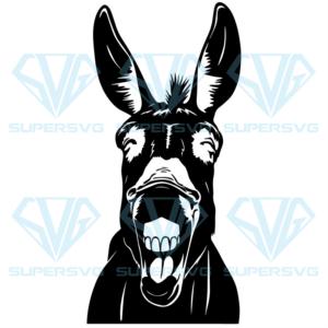 Donkey svg an nd