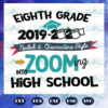 Eighth grade 2019 2020 zooming into high school svg BS27072020