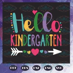 Hello Kindergarten Svg BS210525TH15