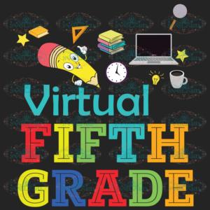Hello Virtual 5th Grade Back To School 100th Days svg BS20082020
