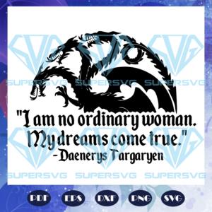 I am no ordinary woman svg md q