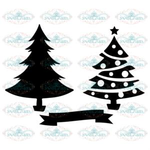 Douple Christmas Tree Svg, Christmas Tree Svg, Christmas Svg, 2020
