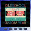 Old School May Custom Year Svg BS2807202022