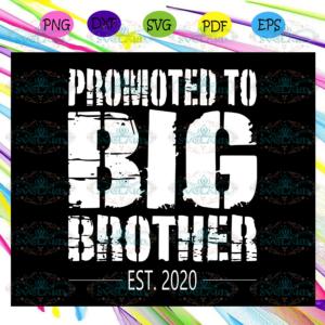 Promoted to big brother 2020 svg, big brother svg, big brother