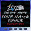 2020 The One Where Your Name Turn 30 Svg BD11072020A9