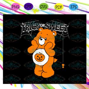 Trick or sweet,Halloween svg, Halloween gift, Halloween shirt, happy