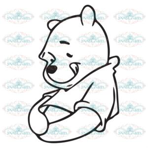 Winnie the pooh svg free, best disney svg files, cartoon svg, instant download