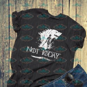 Arya svg, not today, fighter svg, game of throne, game of throne