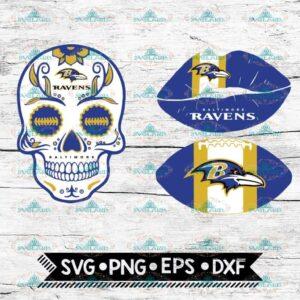 Baltimore Ravens Svg, NFL Svg, Bundle, Svg, Cricut File, Football