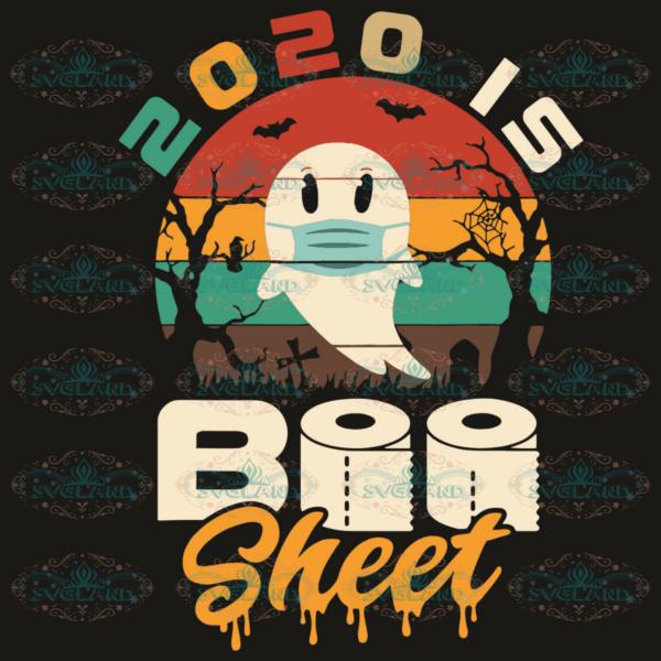 2020 is Boo sheet svg HW25092020