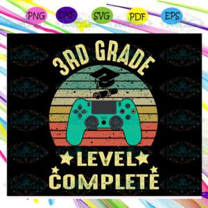 3rd grade level complete 3rd grade svg BS13072020