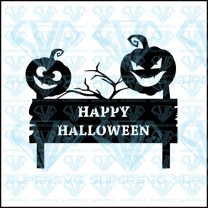 Happy Halloween Svg Files For Silhouette Files For Cricut Svg Dxf Eps