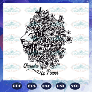 Character is power Lion king svg BD140720292Q