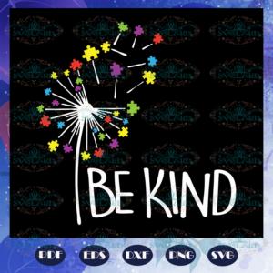 Be kind puzzle piece svg AU28072020