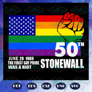 50th stonewall, rainbow svg, leseither way, lesbian gift, lgbt shirt,