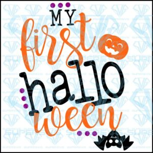 Free Svg Files My First Halloween Svg Files For Silhouette Files For