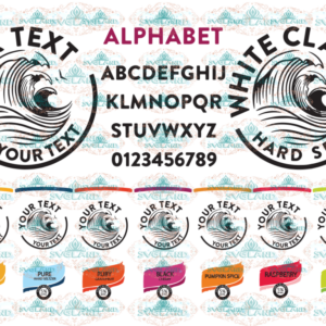 White Claw svg, Hard Seltzer vector, Drinking clipart, font alphabet,